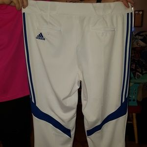 2XL ADIDAS Coach Pants Soccer Baseball 2 Pair Men